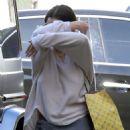 Selena Gomez – Heads to Nine Zero hair salon in West Hollywood