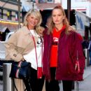 Christie Brinkley with her daughter arriving to the Knicks vs Heat Basketball game in NYC - 454 x 517