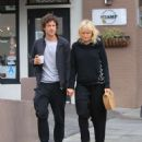 Malin Akerman and boyfriend Jack Donnelly out in Hollywood - 454 x 602