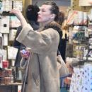 Milla Jovovich – Shopping at the Prada store in Beverly Hills - 454 x 621