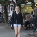 Sophie Turner in Shorts Out in London August 31, 2016