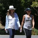 Isla Fisher Hiking In Los Angeles