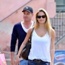 Bar Refaeli and David Fisher in St. Tropez