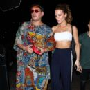 Kate Beckinsale in Crop Top – Heading to the Dave Chapelle Show in LA