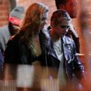 Kristen Stewart with Stella Maxwell – Seen outside a Bar in New York City - 454 x 378