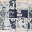 Paul Anka - Garbo Magazine Pictorial [Spain] (11 March 1967)