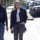 Chloe Moretz in Jeans – Out with a friend in LA - 454 x 668