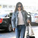 Emmy Rossum – Arrives at LAX Airport in LA - 454 x 673