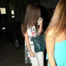 Selena Gomez got her hair chemically straightened today at a hair salon in West Hollywood, California on July 19, 2013 - 454 x 614