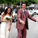 Mila Kunis: film a wedding scene for Guillaume Canet's crime drama 'Blood Ties' in Brooklyn