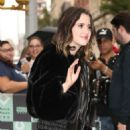 Laura Marano – Arrives at AOL Build Series in NYC