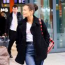 Thandie Newton – Arrives at Heathrow Airport in London