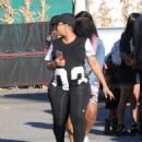 Blac Chyna and Kourtney Kardashian at The Pumpkin Patch in Los Angeles, California - October 14, 2016 - 454 x 600