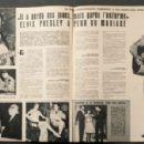Elvis Presley - Cinemonde Magazine Pictorial [France] (7 June 1960)