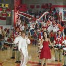 Zac Efron as Troy Bolton and Vanessa Anne Hudgens as Gabriella Montez in Comedy Drama Musical, High School Musical