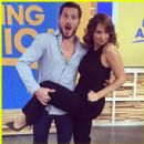 Val Chmerkovskiy and Ginger Zee