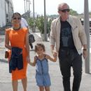 Salma Hayek: leaving Venice