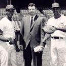 Ernie Banks, Len Johnson & Billy Williams