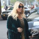 Jessica Simpson – Returns to The Greenwich Hotel in New York - 454 x 605