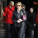 Lindsay Lohan Leaves The Bowery Hotel In New York City, 2009-02-13