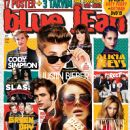 Cody Simpson, Justin Bieber, Demi Lovato, Alicia Keys, Slash, Robert Pattinson, Lana Del Rey, Beyoncé Knowles, Anastacia, Mika - blue jean Magazine Cover [Turkey] (January 2013)