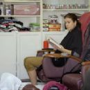 Kate Walsh runs some errands and gets a pedicure in Los Feliz