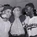 Roy Campanella & Jackie Robinson - 454 x 346