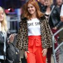 Isla Fisher at BBC Broadcasting House in London