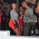 Amber Rose Partying at Club Roxy in Orlando, Florida - February 25, 2012 - 454 x 579
