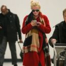 Jenny McCarthy seen arriving to LAX International Airport Los Angeles CA January 10,2015 - 396 x 594