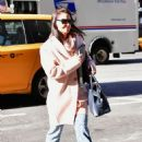 Katie Holmes – Heading to a casting call in NYC