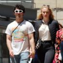 Sophie Turner and Joe Jonas – Out for some lunch in Barcelona - 454 x 512