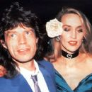 Jerry Hall and Mick Jagger