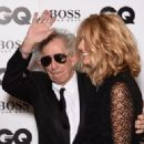 Keith Richards and Patti Hansen attend the GQ Men Of The Year Awards at The Royal Opera House on September 8, 2015 in London, England. - 454 x 323