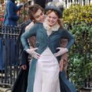 Elle Fanning and Douglas Booth