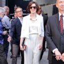 Anne Hathaway Honored On The Hollywood Walk Of Fame For Matthew McConaughey