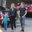 Kate Mara and Jamie Bell have a bowling date in Los Angeles - 454 x 303