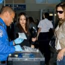Cindy Crawford at LAX Airport - December 13, 2010