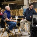 Left to right: Producer Frank Marshall and Producer Sam Mercer on the set of Paramount Pictures/Nickelodeon Movies adventure, 'The Last Airbender.' Photo credit: Zade Rosenthal. Copyright © 2010 Paramount Pictures Corporation. All Rights Reserved.