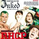 Josh Klinghoffer, Chad Smith, Flea, Anthony Kiedis - Inked Magazine Cover [Australia] (September 2011)
