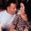 Andie MacDowell and Bruce Willis