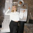 Erin Heatherton Empire State Building In Nyc
