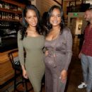 Christina Milian – Intimate baby shower held in Westwood - 454 x 638