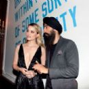Dianna Agron – Free Arts NYC Honors Legendary Conceptual Artist Lawrence Weiner in NYC