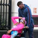 Katie Price – Is seen at the Chelsea and Westminster hospital - 454 x 554