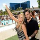 Carmen Electra and Rob Patterson birthday celebration at WetRepublic