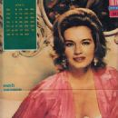 Angie Dickinson - Filmski svet Magazine Pictorial [Yugoslavia (Serbia and Montenegro)] (2 April 1964)