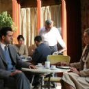 Troy Garity as Avner Less and Delaine Yates as Miriam Frolich in Eichmann.