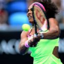 Serena Williams 2015 Australian Open In Melbourne Day 2
