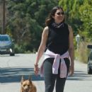 Mandy Moore and Taylor Goldsmith – Goes for a stroll